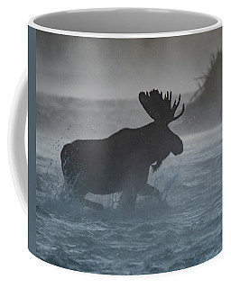 Coffee Mug featuring the photograph Morning Crossing by Mary Hone