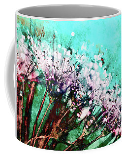 Morning Dew On Dandelions Coffee Mug