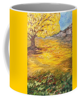 Coffee Mug featuring the painting Morning Glory by Norma Duch