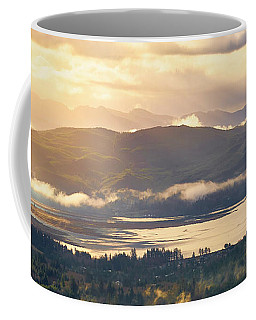 Coffee Mug featuring the photograph Morning Glory by Whitney Goodey
