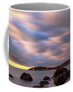 Coffee Mug featuring the photograph Morning Glow, Stage Fort Park. Gloucester Ma. by Michael Hubley