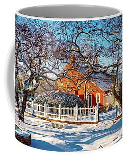Morning Light, Winter Garden. Coffee Mug