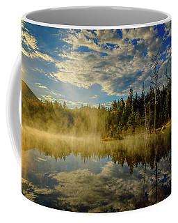 Morning Mist, Wildlife Pond  Coffee Mug