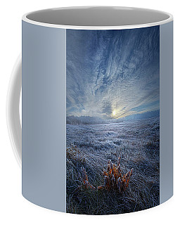 Coffee Mug featuring the photograph Morning Time Blues by Phil Koch