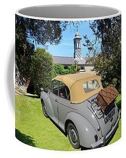 Morris Minor Grey Convertible Coffee Mug