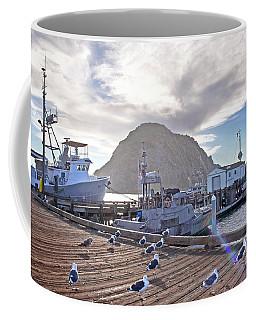 Morro Bay Harbor Coffee Mug