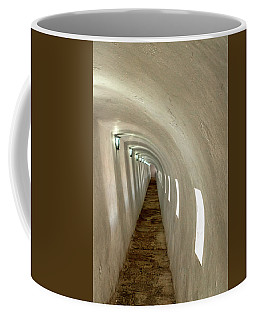Coffee Mug featuring the photograph Morro Castle Hallway by Tom Singleton