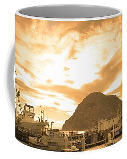 Morro Rock Sky Coffee Mug