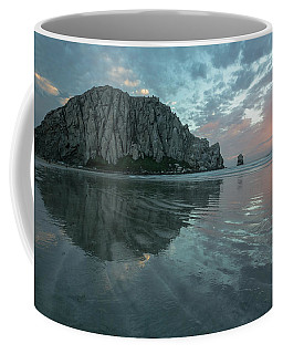 Morro Rock Sunset Coffee Mug