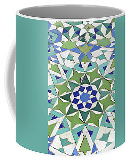 Mosaic Exterior Decorations Of The Hassan II Mosque Coffee Mug