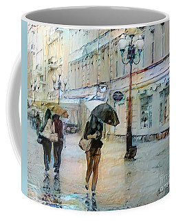 Moscow In The Rain Coffee Mug