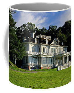 Coffee Mug featuring the photograph Moses Cone Manor by Meta Gatschenberger