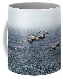 Mosquito Fighter Bombers Over The North Sea Coffee Mug