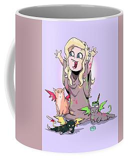 Mother Of Kittens Coffee Mug