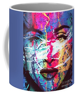 Motiv Madonna Just Splash Pop Art Coffee Mug