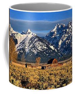 Moulton Barn Grand Tetons Coffee Mug