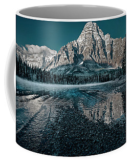 Mount Chephren Reflected Coffee Mug