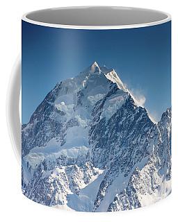 Mount Cook Aoraki Summit Ridge Coffee Mug