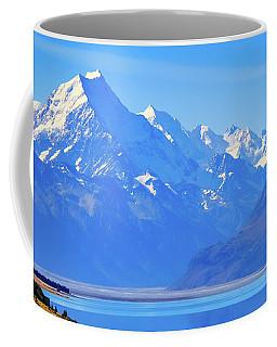 Mount Cook Overlooking Lake Pukaki,  New Zealand Coffee Mug