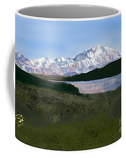 Mount Mckinley From Wonder Lake  Coffee Mug