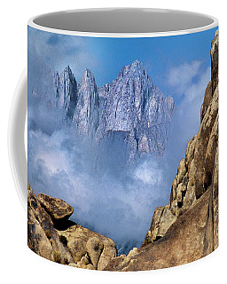 Mount Whitney Clearing Storm Eastern Sierras California Coffee Mug