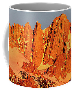 Mount Whitney Sunrise Coffee Mug