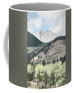 Mount Ypsilon Coffee Mug