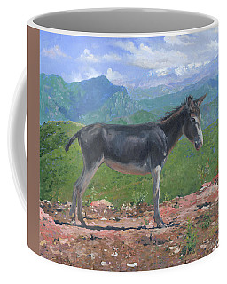 Mountain Donkey  Coffee Mug