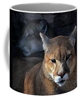 Mountain Lion In South Dakota United States Of America  Coffee Mug