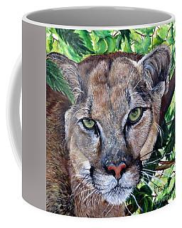 Mountain Lion Portrait Coffee Mug