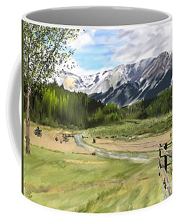 Mountain Shadow Coffee Mug