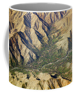 Coffee Mug featuring the photograph Mountain Valley Village by SR Green