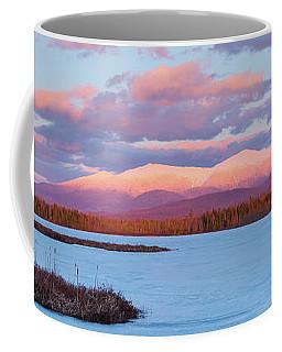 Mountain Views Over Cherry Pond Coffee Mug