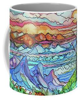 Mountains And Sea Coffee Mug