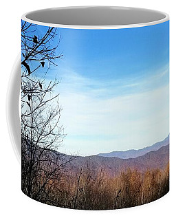 Coffee Mug featuring the photograph Mountains For Miles by Rachel Hannah