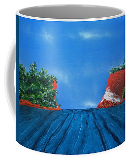 Mouth Of The Hay River Coffee Mug