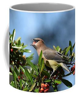 Mouthful Of Berries Coffee Mug