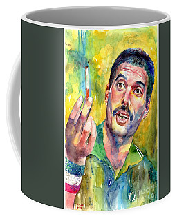 Mr Bad Guy - Freddie Mercury Portrait Coffee Mug