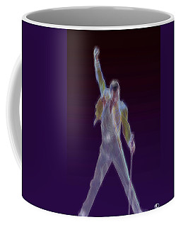 Coffee Mug featuring the digital art Mr. Fahrenheit by Kenneth Armand Johnson