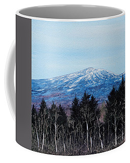 Mt. Monadnock Spring Snow Coffee Mug