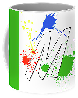 Coffee Mug featuring the digital art MTM by Meet the Masters