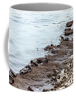 Muddy Sea Shore Coffee Mug
