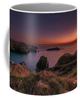Mullion Cove - Sunset 2 Coffee Mug