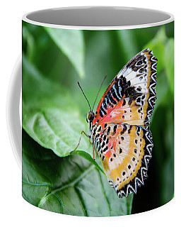 Multi Colored Butterfly Coffee Mug