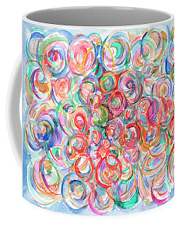 Multicolor Bubbles Coffee Mug