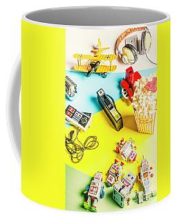 Multicolour Memorabilia Coffee Mug