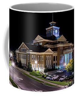Municipal Center At Night - North Augusta Sc Coffee Mug