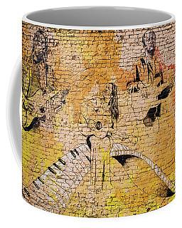 Musical Wall Mural Coffee Mug
