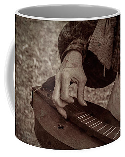 Coffee Mug featuring the photograph Musician 1349 by Guy Whiteley
