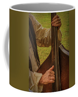 Coffee Mug featuring the photograph Musician 1370 by Guy Whiteley